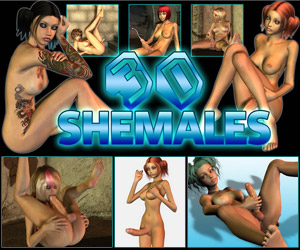 3D Shemales