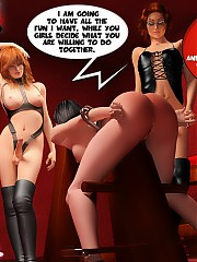 Sleepless in New York. Tied up mademoiselle was sadistically spanked by brutal tgirls